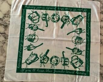 pots & pans on parade towel