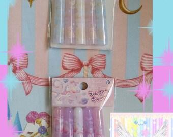 Kawaii Pastel Princess Pony Pencil Caps - Choose One