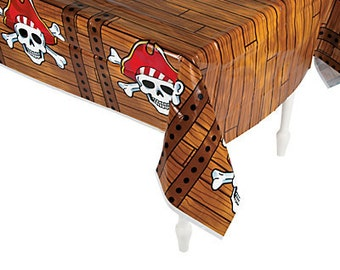 Pirate table cover/ Tablecloth