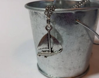 I Am Sailing Necklace