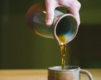 Handmade Terracotta Coffee Mug