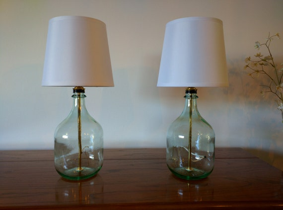 table lamp bedside lamps small table lamps bottle lamp glass table. Black Bedroom Furniture Sets. Home Design Ideas