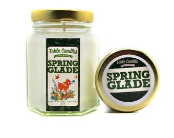 Spring Glade Scented Soy Candle | Handmade Scented Candle