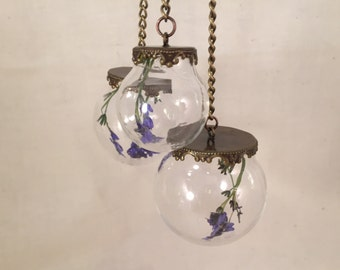Botanical Flower Mobile ; Forget - Me - Not