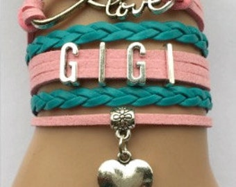 GIGI Multi Strand Infinity Bracelet