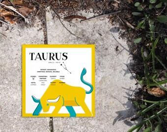 TAURUS Zodiac Print / Poster