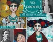 The Frida Experience - Online Workshop with Kara Bullock