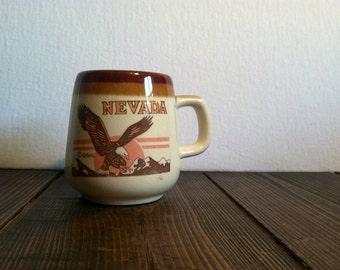 Vintage Nevada State Mug