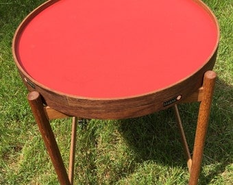 Vintage Mid-Century Hans Bolling by Torben Orskov & Co. Rolling Tea Table from Denmark