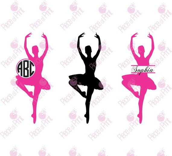 Ballerina Svg Ballet Svg Ballet Dancer Svg Cut By Pieceofprint