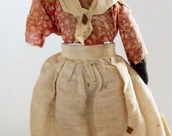 Black Mammy Cloth Doll 1930s