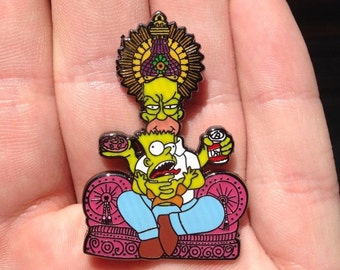 Homer's Bliss-Simpsons Ganesh Heady Hat Pin