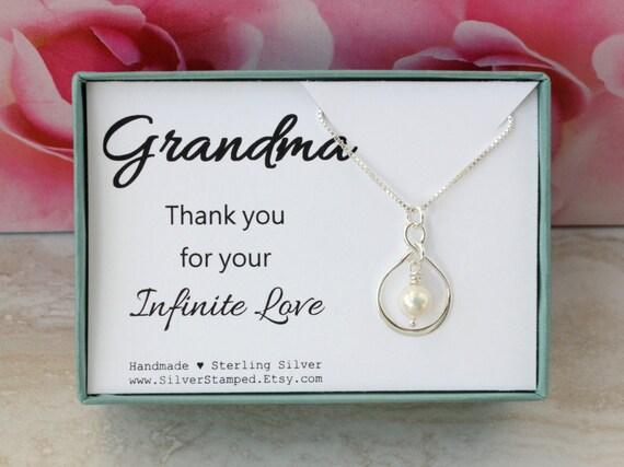 Gift For Grandma Birthday Gift From Granddaughter Sterling