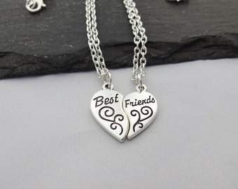 Best Friends Necklace, Two Necklaces, Friendship Necklace, Best Friend Necklace, Necklace Set, Friendship Jewellery, Friendship Gifts