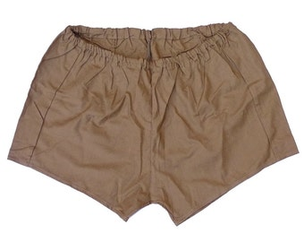 Genuine Ex-Army Shorts NEW khaki olive vintage 1980s military PT hot pants retro sports gym desert jungle