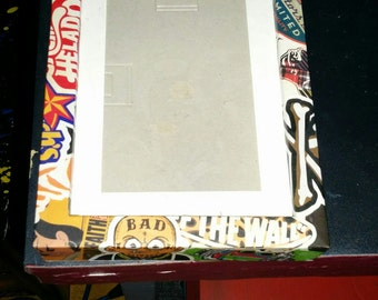 Pop Culture Collage Picture Frame