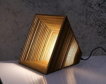 Khafre - recycled cardboard lamp