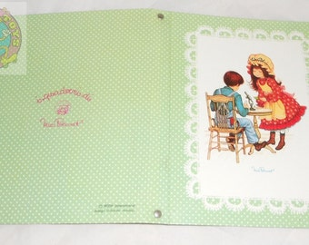 MISS PETTICOAT 70s Cartorama Italy - cover with metal rings for school - notebook with rings