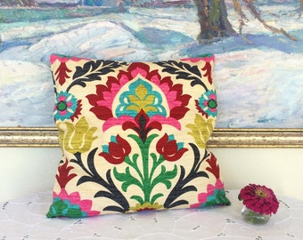 "Sale ! Pillow Covers 16 x 16 "" (40 x 40 см)   - Throw Pillow Covers Floral Pillow"