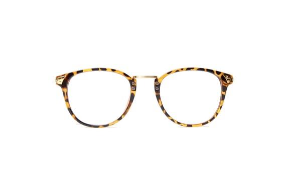 leopard panto vintage brille tiger gold vintage eyeglasses. Black Bedroom Furniture Sets. Home Design Ideas