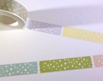 Washi Tape - Decorative Tape - Paper Tape - Fun Washi Tape For Planners, Scrapbooks, Cards, Decor, More - Planner Supplies - Crafts - TAPE6