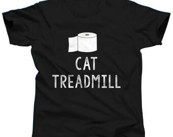 Funny Cat Shirt - Cat Treadmill - Cat T Shirt - Crazy Cat Lady Shirt - Cat Tshirt - Cat Lover Gift - Kitten Shirt - Funny Shirt