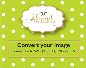 Convert your image to SVG