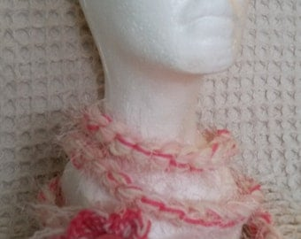 Jane's Skinny Scarf - Pretty in Pink