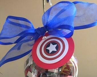 Captain America (Marvel) Comic Book Ornament