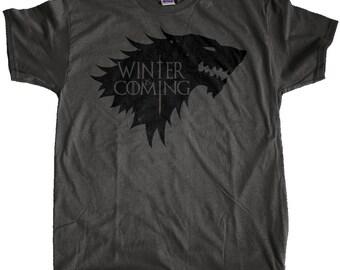"Men's Game of Thrones ""Winter Is Coming"" T-Shirt"