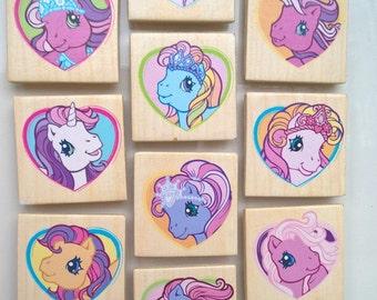 My Little Pony fridge magnet, set of ten magnets, magnet, horse