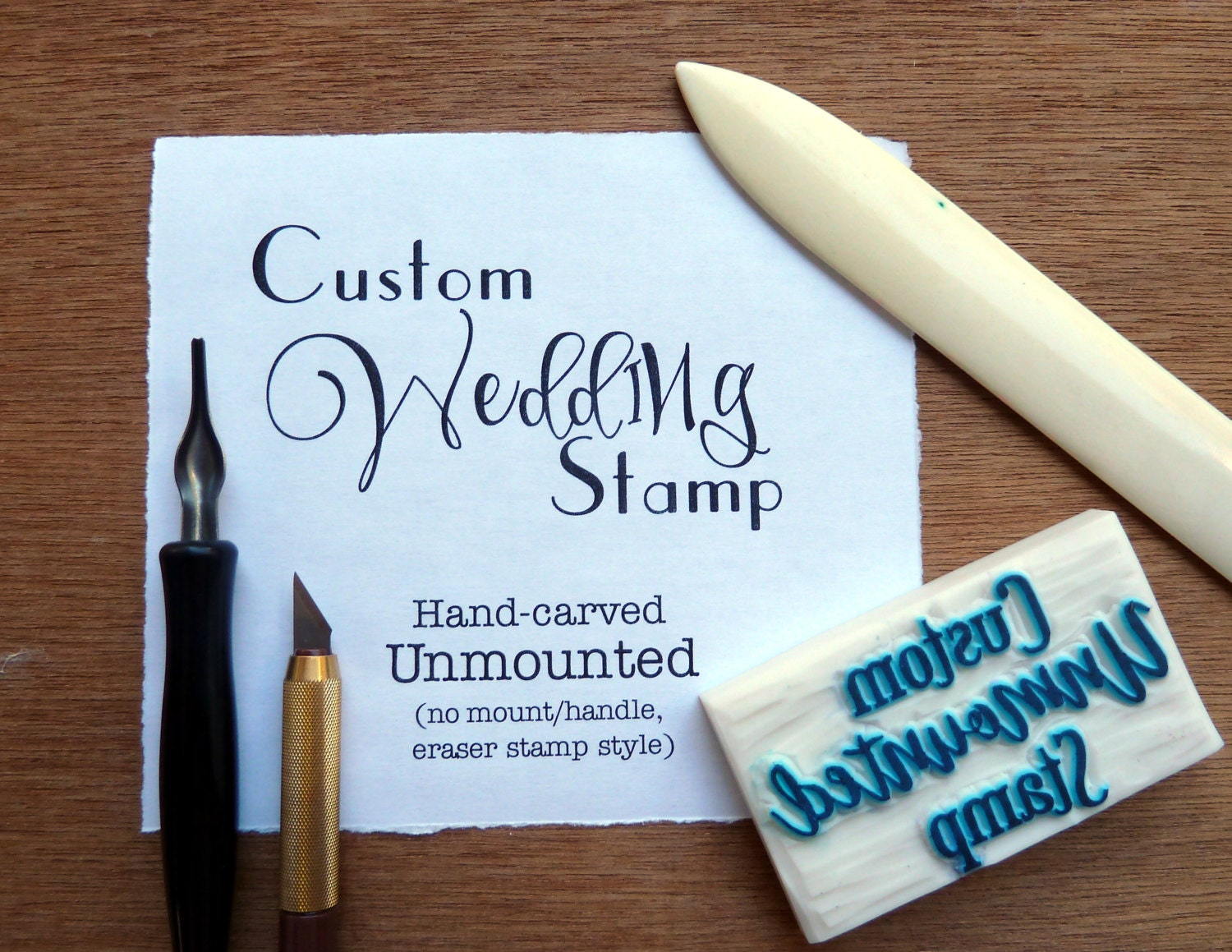 custom wedding stamp personalized wedding stamp custom