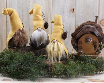 Nordic Gnomes, Scandinavian Gnome, Woodland Nordic Gnomes, Gifts for Her, Hostess Gifts, Get Well Soon, Nisse, Tomten by The Gnome Makers