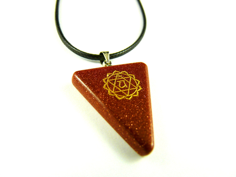 chakra necklace spiritual pendant by khacharaempire