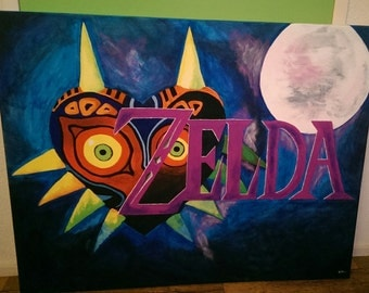 Legend of Zelda: Majora's Mask painting