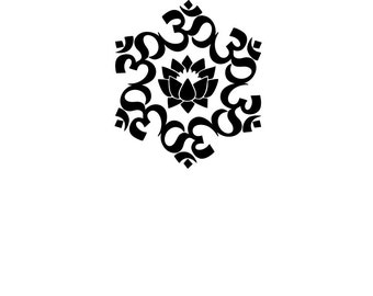 Lotus Flower Sticker/Decal/Wall Art