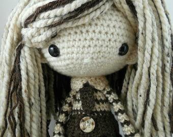 Luisa - Amigurumi Doll Crochet Pattern PDF