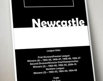 Newcastle United Art Print
