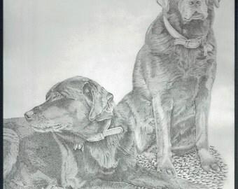 Best Friends (Print) 8x10