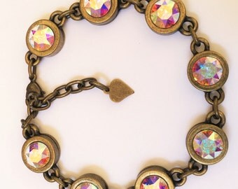 Lucky U Peach AB 8.5mm Bracelet