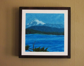 Mt. Baker acrylic pacific northwest painting