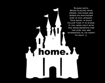 Disney Castle Home Disney World Disneyland Cinderella Disney Castle Matching Family Vacation Disney Iron On Vinyl Decal for T Shirt