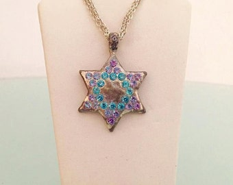 Star of David Necklace 2