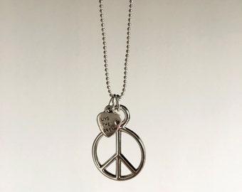 Peace ~ silver