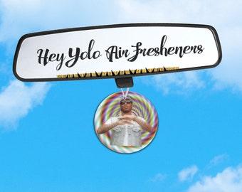 Future Air Freshener - Rapper Air Freshener - Fresh Scents - Hip Hop Wizard