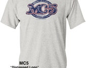 "MC5 ""Vintage Logo"" on 100% cotton T-shirt & Jerseys! Limited Run!"
