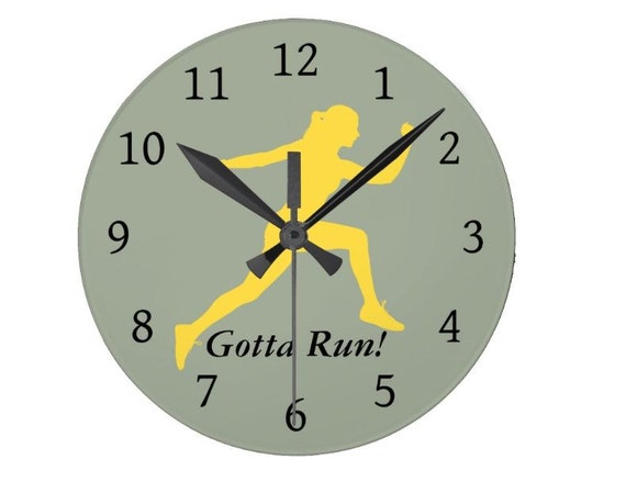 run wall clock clock clock for gym gym clock clock for