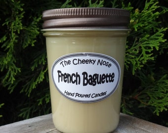 Scented Candle, Soy Candle, Bread Candle, French Baguette Candle, Paraffin, Bakery Candle, Bread Soy Candle, Scented Soy Candle, Man Candle