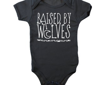 Raised by Wolves Jersey Bodysuit/Onesie