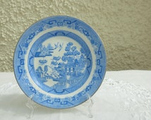 Unique Blue Willow China Related Items Etsy